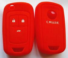 RED HOLDEN CAR FLIP KEY COVER CASE FOR CHEVROLET COLORADO AVEO CRUZE