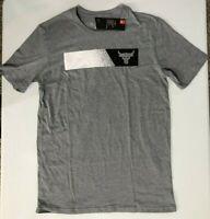 Under Armour Project Rock USDNA Bar Graphic Bull MFO Men's SZ S  T-Shirt Gray