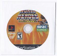 World Heroes Anthology (Sony PlayStation 2, 2008)