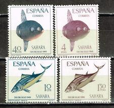 Spanish Sahara Marine Life Fish stamps 1968 MNH