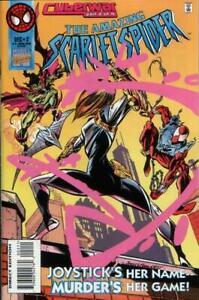 MARVEL THE AMAZING SCARLET SPIDER #2 COMIC 1ST APP. JOYSTICK