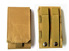 Army Tactical Miltary Mobile Cell Phone Bag Belt Loop Hook Case Pouch Holste
