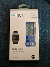 FITBIT Ionic Sport Band - Blue & Yellow, Small