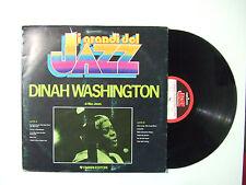 Dinah Washington – I Grandi Del Jazz -Disco Vinile 33 Giri LP Album ITALIA 1979