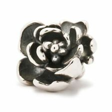 AUTHENTIC TROLLBEAD SILVER ROSE PENDANT TAGPE-00003 ROSA ANGELICA