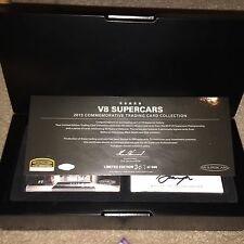 2013 V8 Supercars Bathurst Champions Signature Card FULL SET in DELUXE BOX