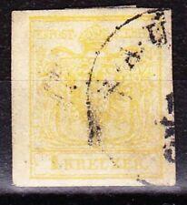 Österreich 1850: 1 Kr MP III (ANK 1) gestempelt (ANK 130 €)