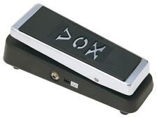 Vox v847a Wah Wah pedal de efecto bodentreter efecto dispositivo 9v puerto buffer cromo