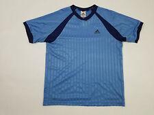 VTG Adidas Mens Short Sleeve Three Stripes Jersey Soccer Futbol FIFA Vintage 90s