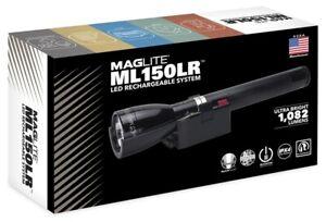 NEW Maglite ML150LR-1019 LED Rechargable System Tactical Flashlight 1082 LUMENS