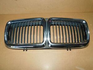 BMW E32 730i 735i Center Kidney Grill Genuine Part 1908697 H