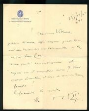 MD 103 autografo presidente consiglio di stato RSI