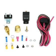 170-185 Degree Electric Cooling Fan Wiring Install Relay Thermostat Kit Hot T9Z9