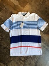 Tommy Hilfiger Classic Fit Cotton Bright White Polo Mens Size XL New