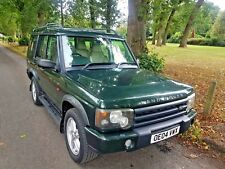 2004 LANDROVER DISCOVERY TD5 LANDMARK EDITION 7 SEATS AUTOMATIC