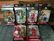Marvel Legends Deadpool Wave 2 SAURON BAF Bishop Lady Omega Red Wolverine X-23