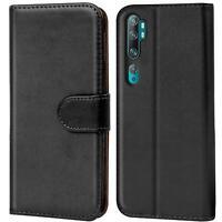 Book Case für Xiaomi Mi Note 10 Hülle Tasche Klapphülle Flip Cover Handy Schutz