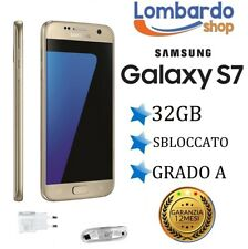 SAMSUNG GALAXY S7 GOLD G930F 32 GB RECONDITIONED ACCESSORIES GRADE A SECOND HAND