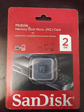 2GB SanDisk Stick Micro M2 Memory Card