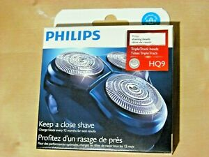 PHILIPS SHAVER HEADS HQ9 (3 Pieces, Series HQ9 *NEW, Genuine)