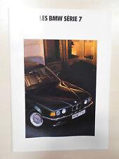 Catalogue BMW Série 7