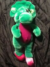 Vintage Barney and Friends baby bop 14 Inch Plush Stuffed Toy Lyons Group