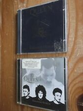 2 pieces Queen Greatest Hits Volumes II and III CD Albums, 2 CD's - 34 tracks