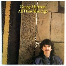 GEORGE HARRISON  All Those Years Ago Dark Horse DRC49725 1981 Picture Sleeve NM+
