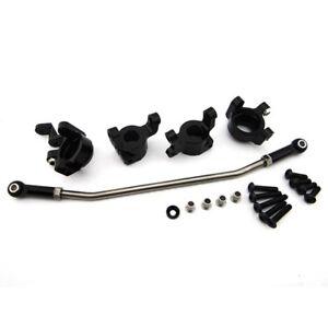 Hot Racing SCXT2122E01 Axial SCX10 II Aluminum AR44 Hub & Steering Upgrade Kit