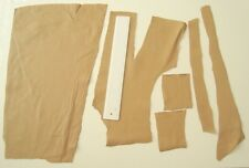 BEIGE NAPPA LEATHER REMNANTS -REPAIRS, PATCHES,LARP- #3112