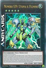 NUMERO S39: UTOPIA IL FULMINE (Number The Lightning) Ultra R • BLAR IT070 Yugioh