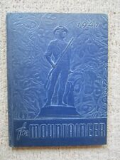 Philipsburg High School, PA,1947 Mountaineer Yearbook