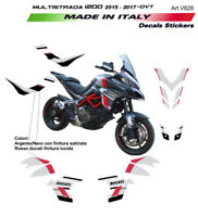 Kit completo adesivi - Ducati Multistrada 1200 dal 2015 al 2017