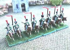 Napoleonic, 15mm Miniatures, French Guard Scout Lancers Cavalry
