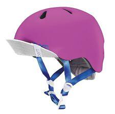 Bern Nina Cycling Helmet (Satin Hot Pink / Junior / X-Small/Small Size)