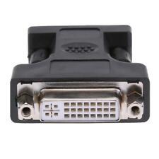 24+5Pin DVI a VGA 15Pin Donna maschile Extender Adattatore Connettore per HDTV Monitor