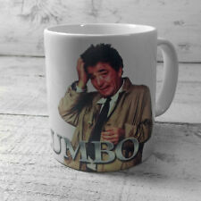 COLUMBO MUG CUP PRESENT FAN PETER FALK MEMORABILIA JUST ONE MORE THING GIFT IDEA