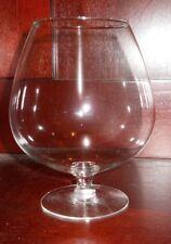 "Stemed Glass Rose Bowl Vase for Floating Blossoms (7"" tall)"