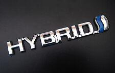 3D HYBRID Chrome Emblem Badge Logo Decal Sticker For Toyota Honda Lexus Ford JDM