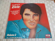 A TRIBUTE TO ELVIS VOLUME 2 (VYNIL 33 TOURS) MONO STEREO