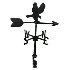 "24"" Roof Mount Weathervane Black EAGLE Arrow Directionals New"
