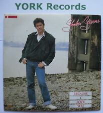 """SHAKIN STEVENS - Because I Love You - Excellent Condition 7"""" Single Epic SHAKY 2"""