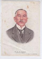 Mr. W.M. HUGHES BDV Cigarettes auf Seide. Godfrey Philips Ltd 1900-1948 RAR