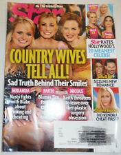 Star Magazine Miranda & Faith & Nicole July 2014 121714R