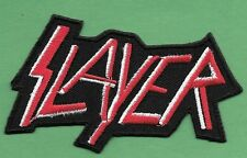 "New Slayer 1 3/4 X 3 1/4  "" Inch Iron on Patch Free Shipping"