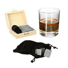 Relaxdays pierres À Whisky Réutilisables pour Rafraîchir Cube Glaçons Boîte S...