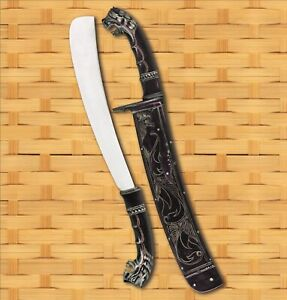 VALIANT CO. FAMOUS HORN GOLOK ~ small chopping & clearing machete