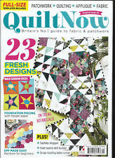 QUILT NOW MAGAZINE,   ISSUE, 45   FREE GIFTS OR INSERTS ARE NOT INCLUDED.