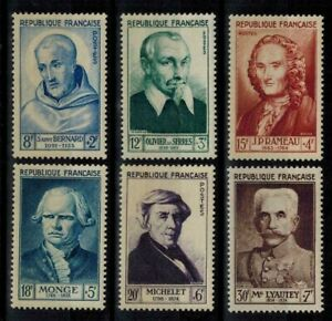 "(a21) timbres France n° 945/950 neufs** année 1953 ""MNH"""