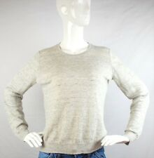 Everlane The Linen Crew Sweater in Heather Gray Size M